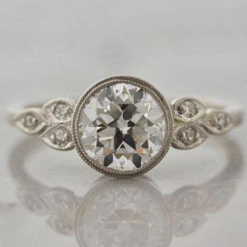 shop bezel set engagement rings on wanelo