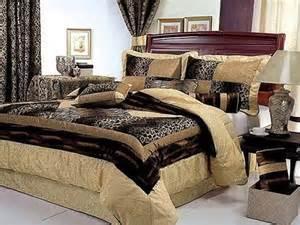 luxurious animal print bedroom decor home
