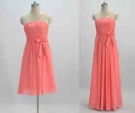 coral color bridesmaid dresses coral bridesmaid dress make to order by 50timeless on etsy