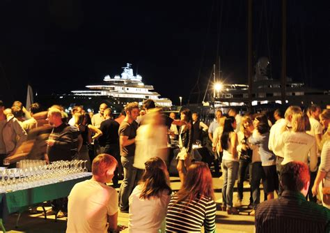 boat crew in spanish vilanova crew party at vilanova grand marina positioned in