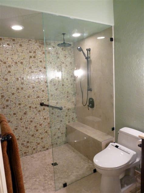 Shower Toilet Shower Bidet Jet Shower Shower Kamar Mandi curbless doorless shower with a micro versailles glass