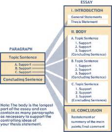 Structure For Writing An Essay by Writing Essays Structuring Your Essay