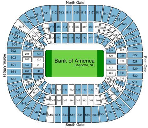 bank of america stadium seating dallas cowboys vs carolina panthers tickets 10 21 2012