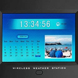 Frame Frame Foto Photo Frame Frame Minima Mhrz Family 02 digital weather station with picture frame viewer