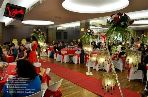 Vina Canopy & Decor: Wedding Dinner Decoration at Sri