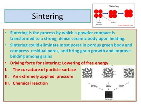 ceramic processing and sintering materials engineering books sintering