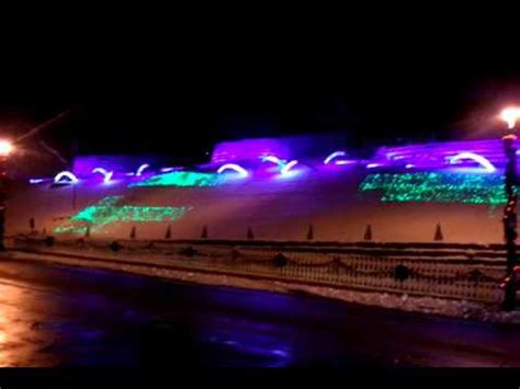 miller brewing co 2010 christmas light show youtube