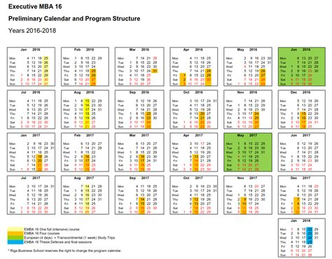 Business School Mba Program Structure by About Emba Riga Business School