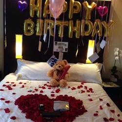 Birthday Decoration Ideas For Husband At Home by 25 Best Ideas About Romantic Birthday On Pinterest