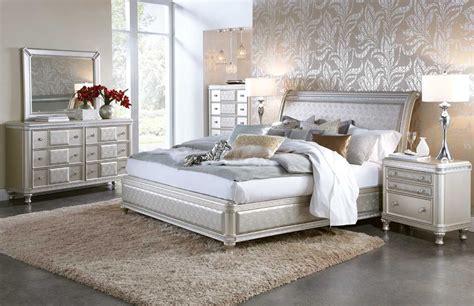hefner silver  pc queen bedroom group badcock