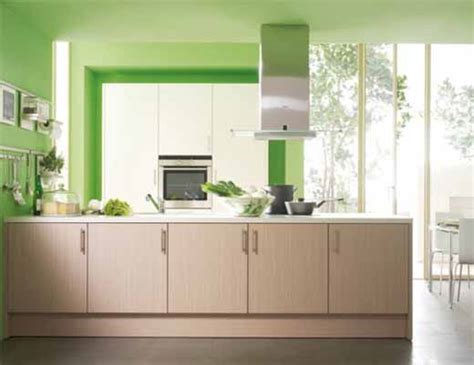 green kitchen decor best color combination for modular kitchen cabinets and walls