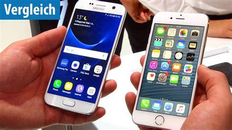 das duell samsung galaxy s7 vs iphone 6s german