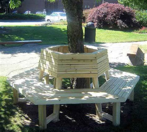 tree bench plans plans to build a bench around a tree woodworking