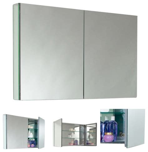 fresca fmc8010 40 inches wide bathroom medicine cabinet