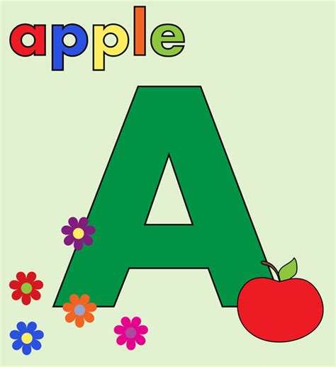 alphabet letter a colorful free stock photo