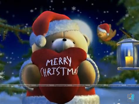 merry christmas wallpaper  teddy bear  wishing merry christmas