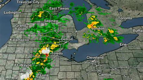 current live weather radar live radar severe storm threat throughout metro detroit