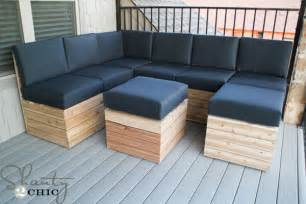 Storage Bench Seat Plans by Diy Modular Outdoor Seating Shanty 2 Chic