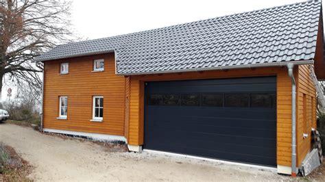 garage mit hebebühne garage mit lagerraum in emskirchen eg holzhaus de