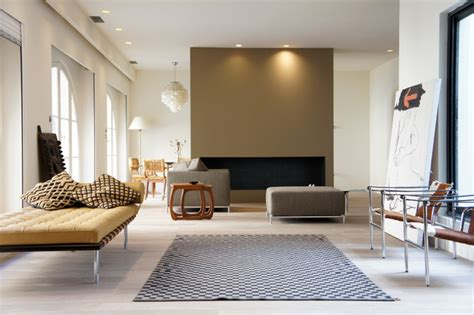 Modern Living Room L by Appartement Cours De L Intendance Living