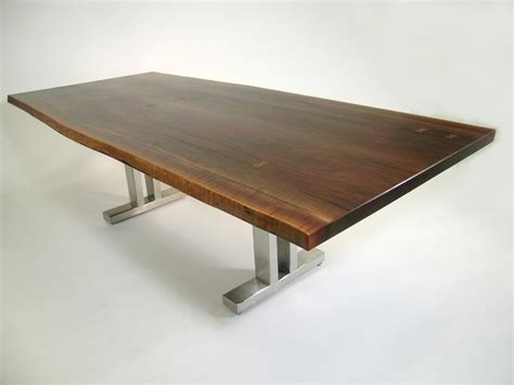 live edge dining table contemporary dining tables