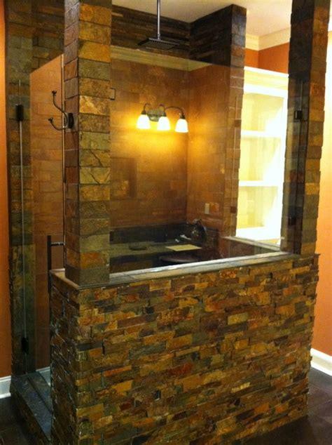 Man Cave Shower Remodel   Mediterranean   Bathroom   other metro   by jKing Enterprises LLC