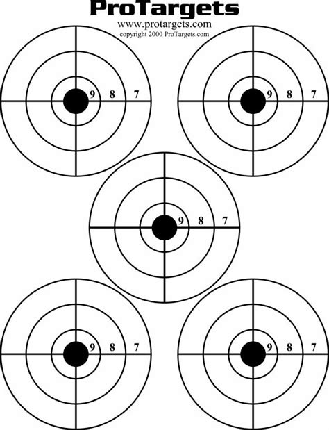 best printable shooting targets 8 best guns images on pinterest shooting targets