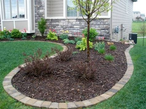 Landscape Edging With Drainage Edging Mulch Drainage Solutions Des Moines Iowa