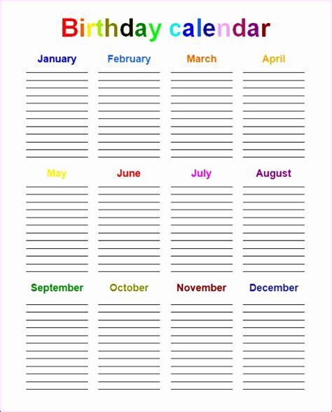 Perpetual Calendar Template Word 6 excel perpetual calendar template exceltemplates