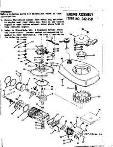 engine assembly diagram parts list for model type64215b tecumseh parts all products parts