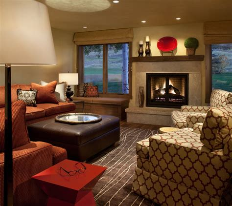 modern country living room ideas snowmass country club townhome modern living room denver by v betty inc interior design