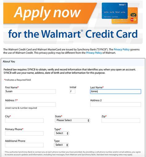 to apply for at 15 walmart credit card walmart 100 images walmart credit