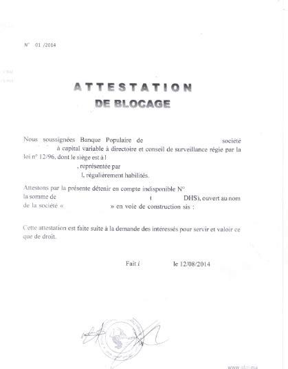 Modele Attestation De Domiciliation Société