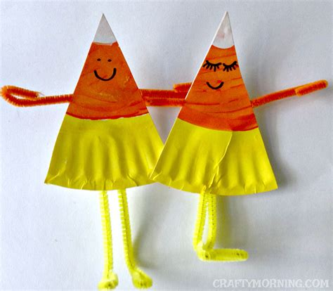 Crafts Using Paper Plates - paper plate corn buddies craft crafty morning