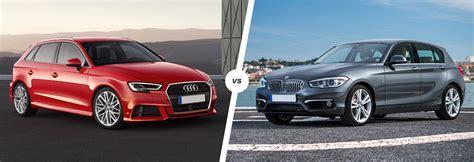 audi a3 vs bmw 1 series audi a3 vs bmw 1 series hatchback comparison carwow