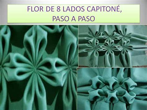 paso a paso flor de 8 lados capitone paso a paso