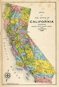 california map gold