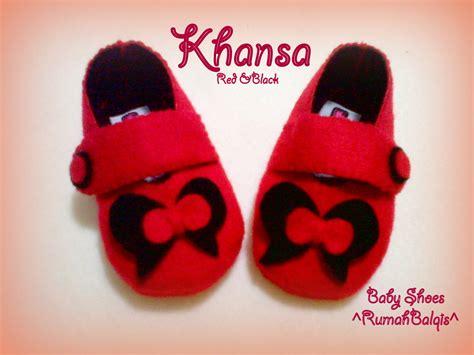 Sepatu Bayi Flanel 6 sepatu bayi flanel kerajinan flanel rumahbalqis