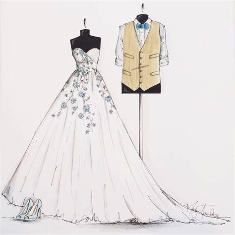 brautkleider zeichnungen wedding dress formal dress pencil and in color