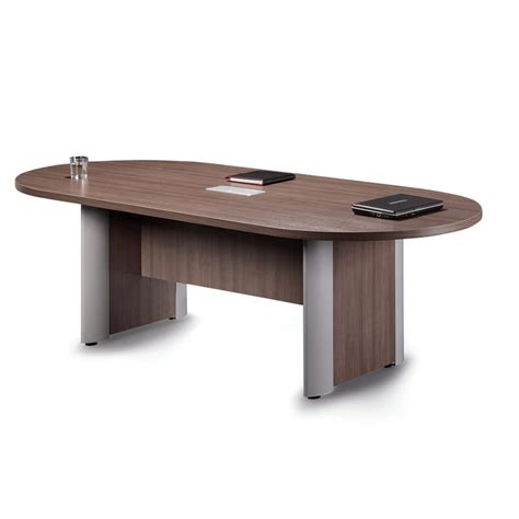 Racetrack Boardroom Table 10 Racetrack Conference Table With Elliptical Base 8 Colors Mcaleer S Office Furniture