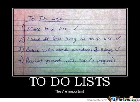 List Meme - to do list by shadowgun meme center