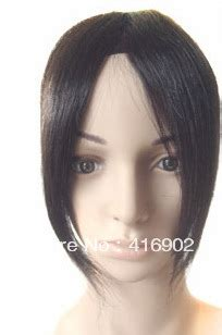 can you clip in a invisible part 1b natural black middle part invisible handtied lace bang
