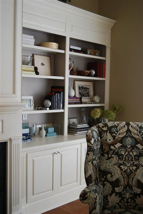 painting built in bookcases best 25 painted bookcases ideas on painting