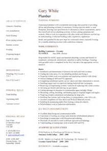 Plumbing Resume Templates by Construction Cv Template Description Cv Writing Building Curriculum Vitae Exles