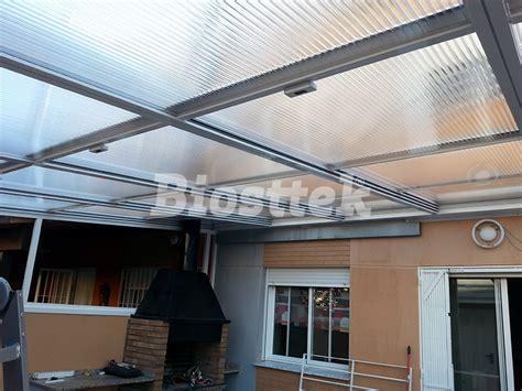 techo de policarbonato precio techos moviles de policarbonato transportes de paneles