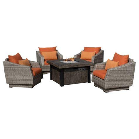 home depot pit set hton bay pit sets outdoor lounge furniture