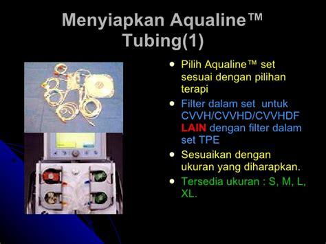 Mesin 1 Set Aquaries 9500 priming dan troubleshooting crrt edward aquarius