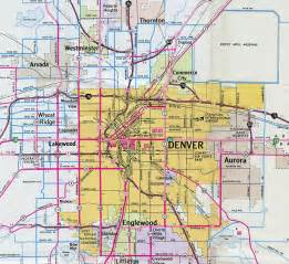 colorado interstate map interstate guide interstate 270