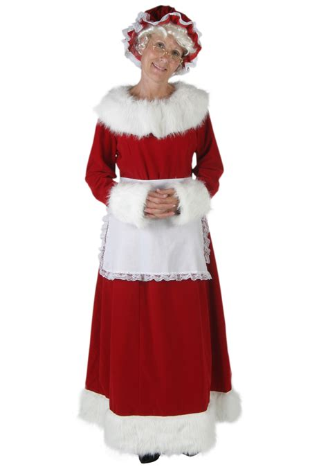 mrs claus deluxe costume christmas costumes for women