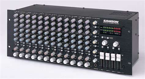 Samson Rack Mixer by Samson Pl2404 Rackmount 24 Channel Program Stereo Line Mixer Ebay